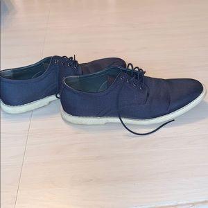Calvin Klein navy blue men's dress shoe